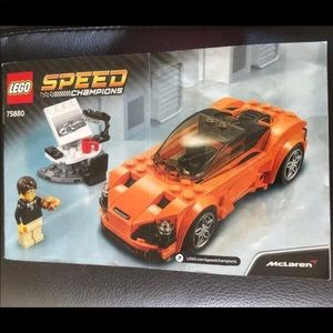 LEGO Speed Champions Instruction Manual ONLY